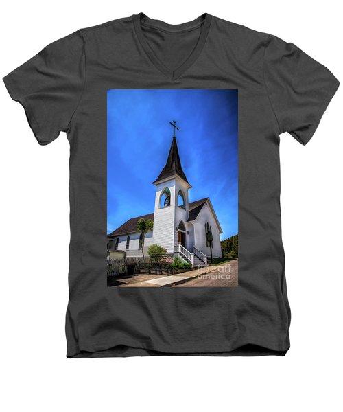 Trinity Church Men's V-Neck T-Shirt