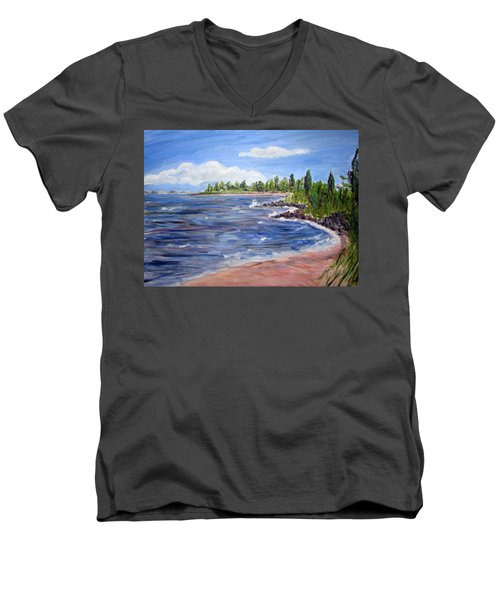 Trixies Cove Men's V-Neck T-Shirt