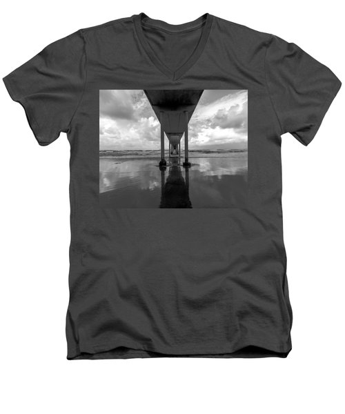 Untitled Men's V-Neck T-Shirt by Ryan Weddle