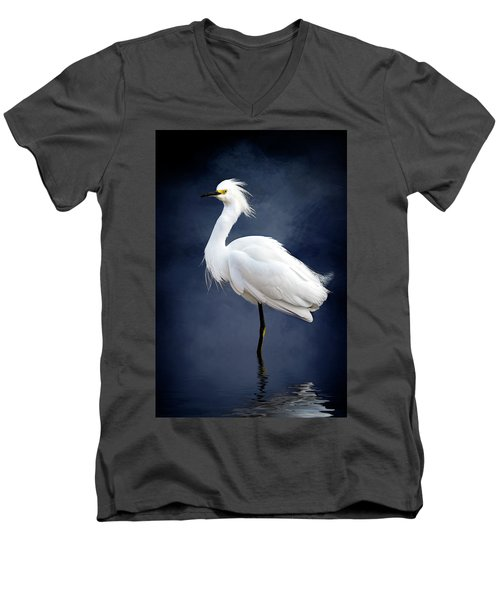Wading Men's V-Neck T-Shirt