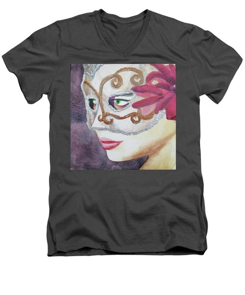 #2 Warrior Queen Men's V-Neck T-Shirt