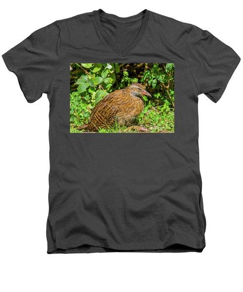 Weka Men's V-Neck T-Shirt by Patricia Hofmeester