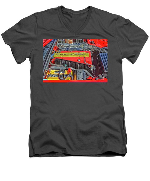 2006 Honda S2000 Engine Men's V-Neck T-Shirt