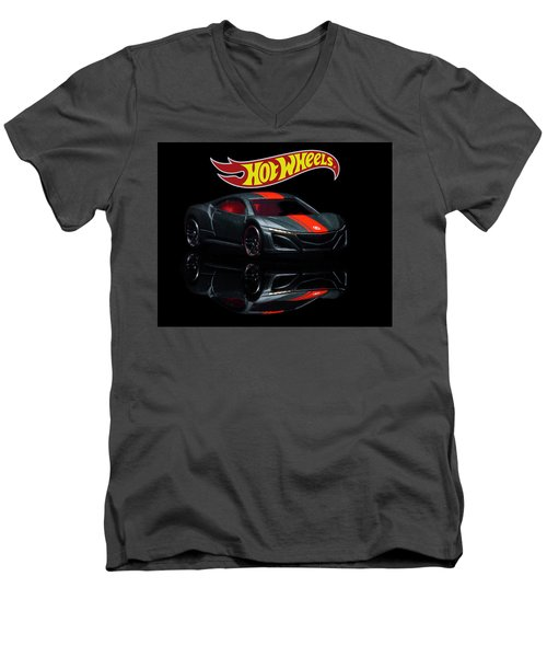2012 Acura Nsx-2 Men's V-Neck T-Shirt
