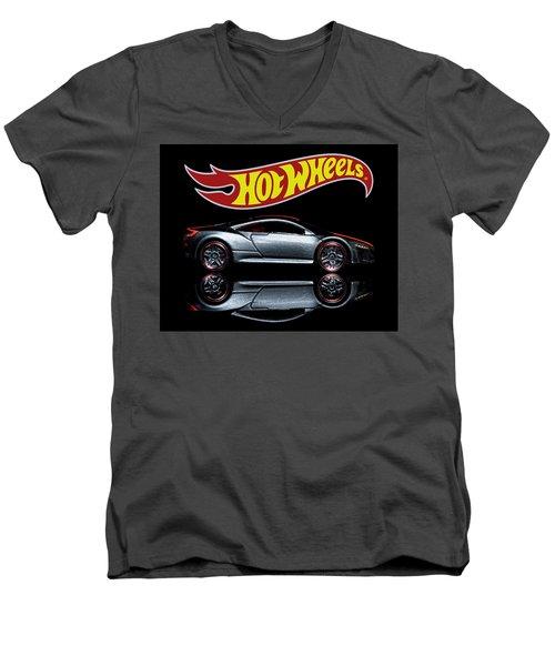 2012 Acura Nsx Men's V-Neck T-Shirt