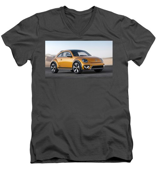 2014 Volkswagen Beetle Dune Concept Men's V-Neck T-Shirt