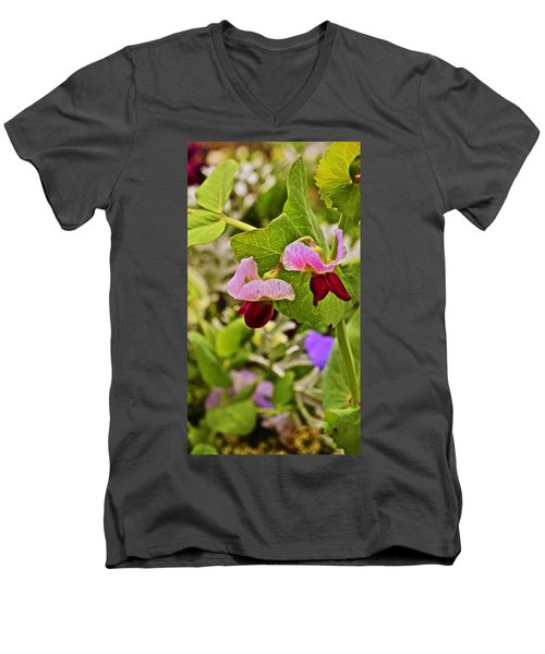 2015 Summer's Eve At The Garden Sweet Pea 2 Men's V-Neck T-Shirt