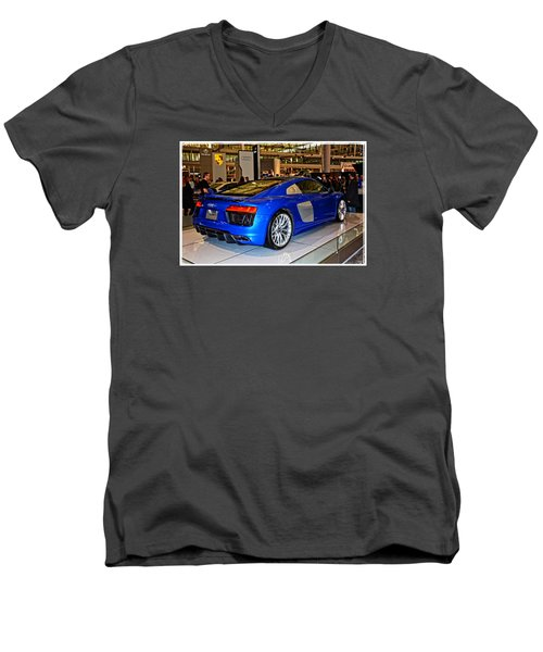 2016 Audi R8 Men's V-Neck T-Shirt