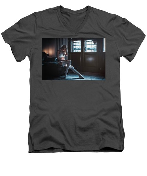 ... Men's V-Neck T-Shirt