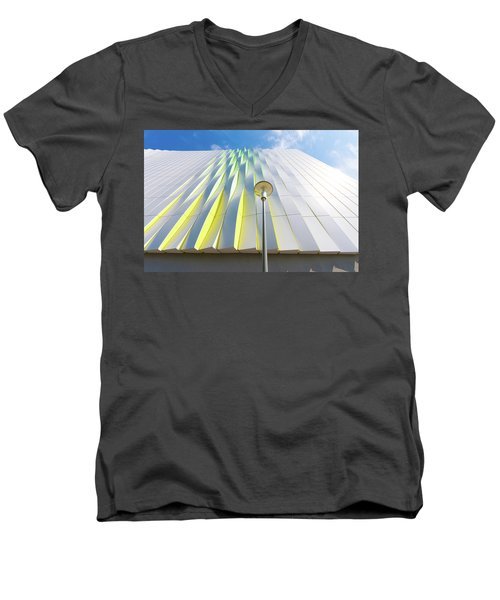 Modern Architecture Men's V-Neck T-Shirt by Hans Engbers