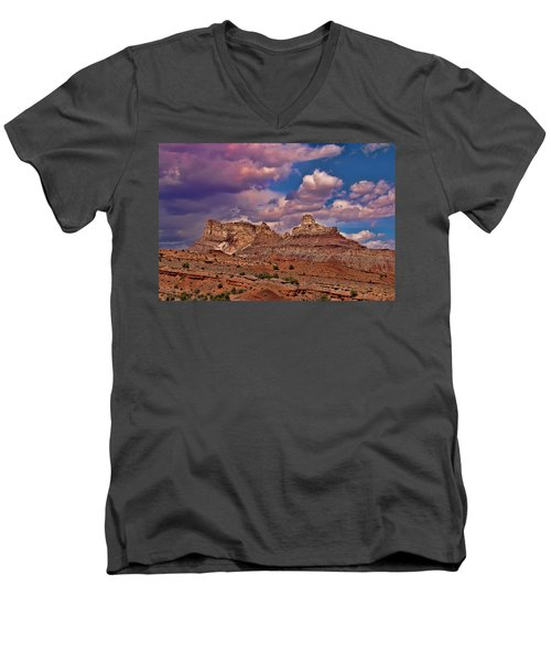 San Rafael Swell Men's V-Neck T-Shirt