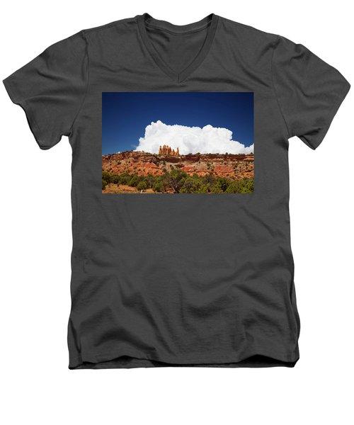 San Rafael Swell Men's V-Neck T-Shirt
