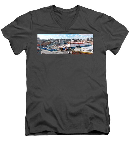 250n10 #5 Men's V-Neck T-Shirt