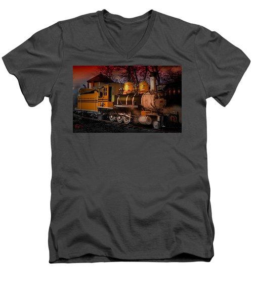 #268 Is Simmering Men's V-Neck T-Shirt