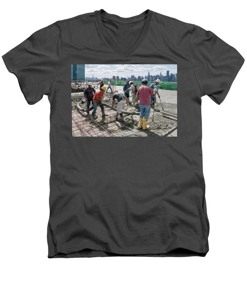 27th Street Lic 1 Men's V-Neck T-Shirt