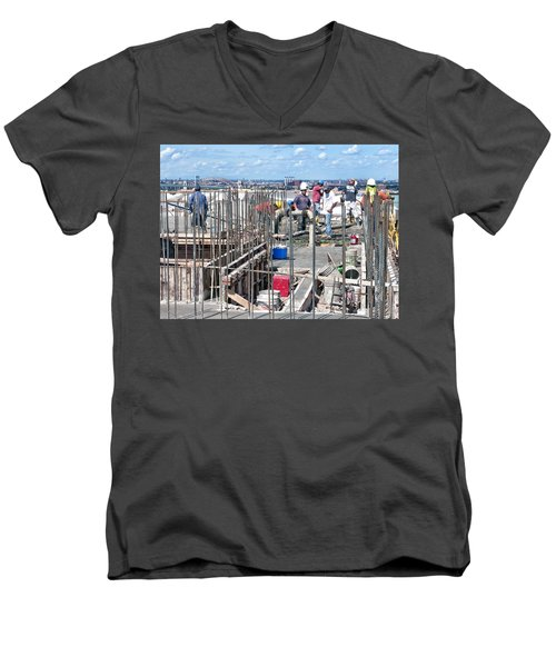 27th Street Lic 2 Men's V-Neck T-Shirt