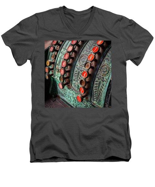Adding Up Men's V-Neck T-Shirt