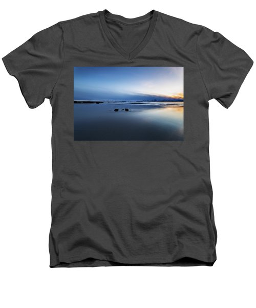 Arctic Sunset Men's V-Neck T-Shirt