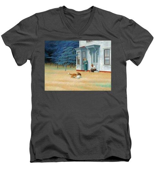 Cape Cod Evening Men's V-Neck T-Shirt