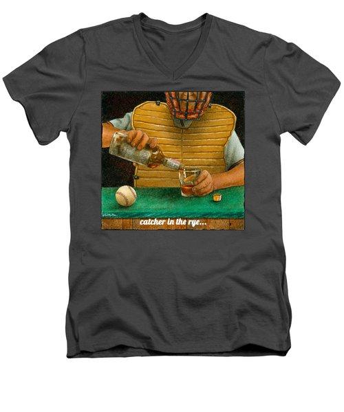 Catcher In The Rye... Men's V-Neck T-Shirt