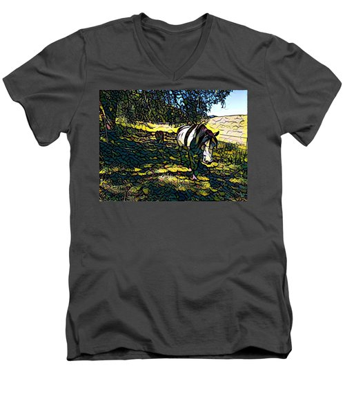 Fat Camp Men's V-Neck T-Shirt