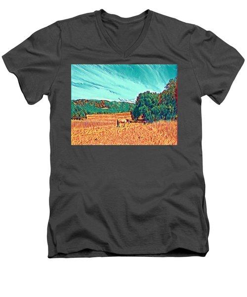 Fat Camp Grazing Men's V-Neck T-Shirt