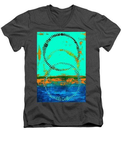 3 In One Men's V-Neck T-Shirt by Everette McMahan jr