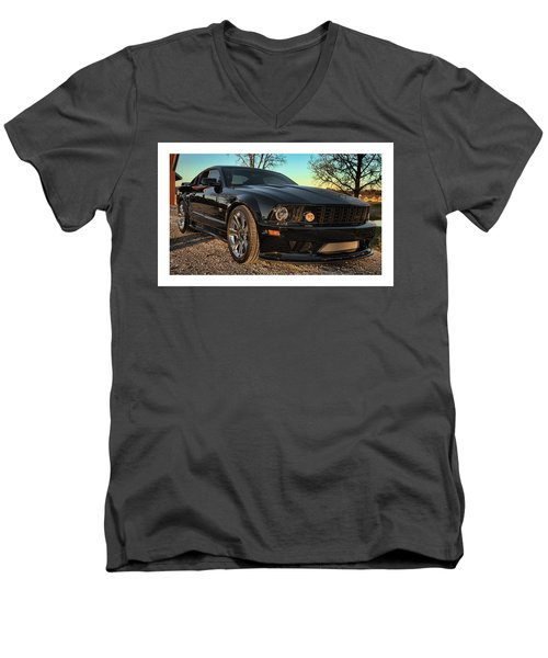 3 Men's V-Neck T-Shirt by John Crothers