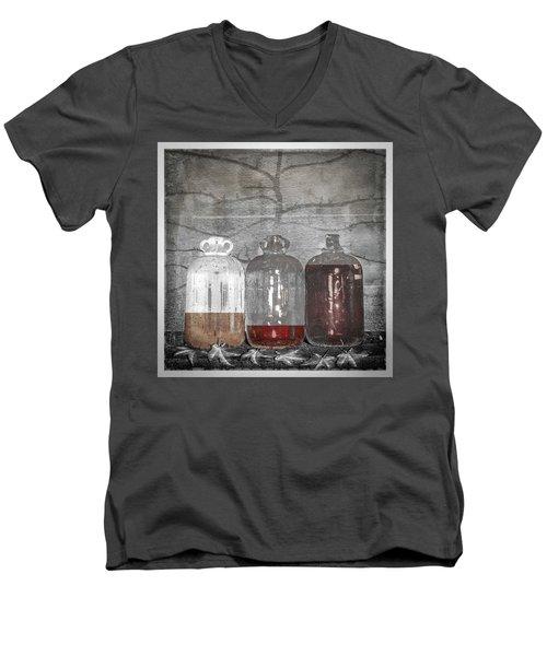 3 Jugs Men's V-Neck T-Shirt