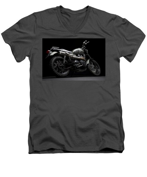 Jurassic Scrambler Men's V-Neck T-Shirt