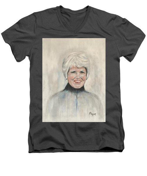 Margaret G Pope Men's V-Neck T-Shirt