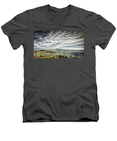 San Francisco Men's V-Neck T-Shirt
