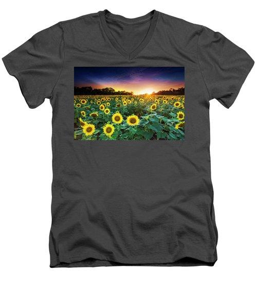 3 Suns Men's V-Neck T-Shirt