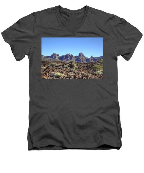 Tenerife - Mount Teide Men's V-Neck T-Shirt