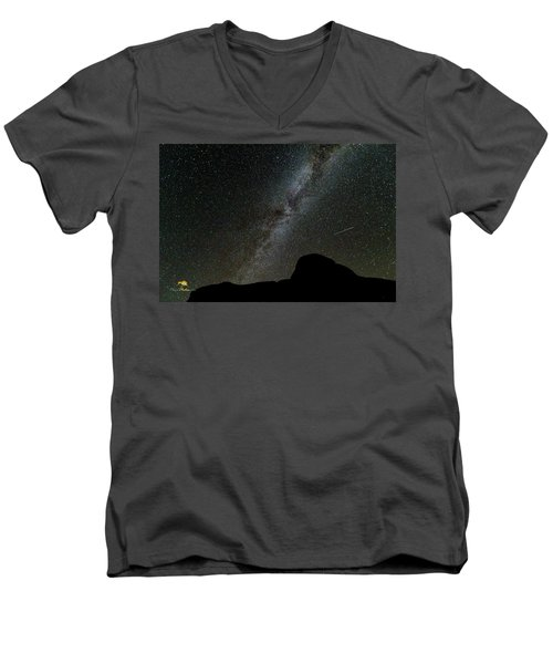 The Milky Way Men's V-Neck T-Shirt