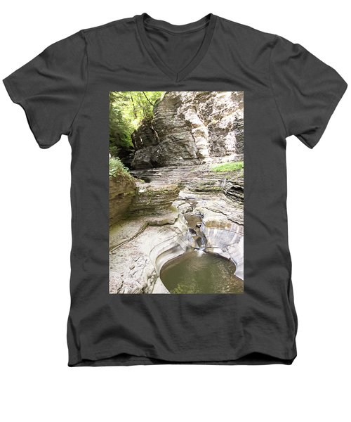 Watkins Glen New York Men's V-Neck T-Shirt