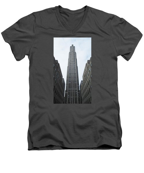 30 Rockefeller Center Men's V-Neck T-Shirt