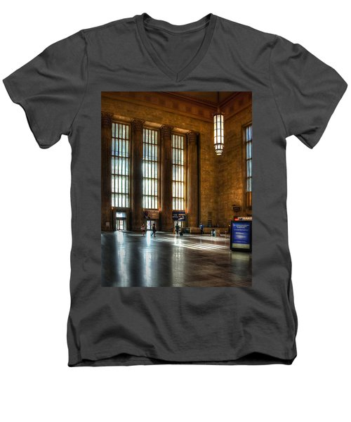 30th Street Station Men's V-Neck T-Shirt