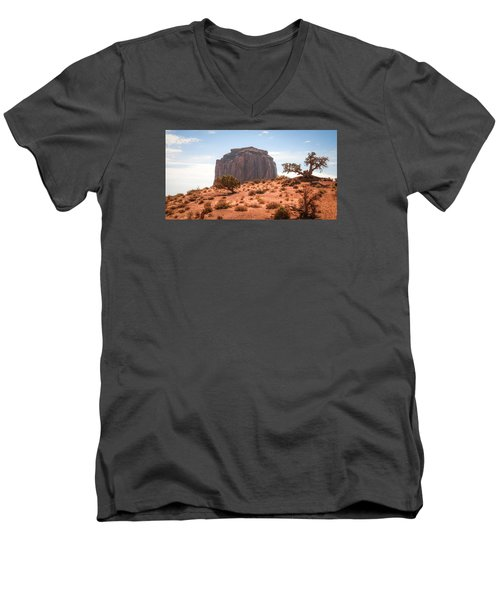 #3328 - Monument Valley, Arizona Men's V-Neck T-Shirt