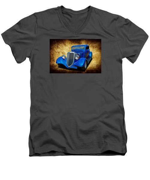 Men's V-Neck T-Shirt featuring the photograph 34 Coupe by Keith Hawley