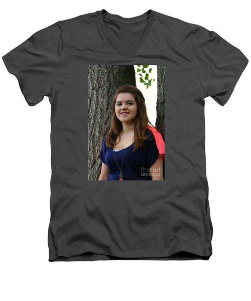 3415v2 Men's V-Neck T-Shirt by Mark J Seefeldt