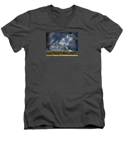 3985 Men's V-Neck T-Shirt by Peter Holme III