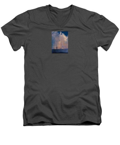 3991 Men's V-Neck T-Shirt by Peter Holme III