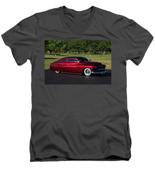 1951 Mercury Low Rider Men's V-Neck T-Shirt