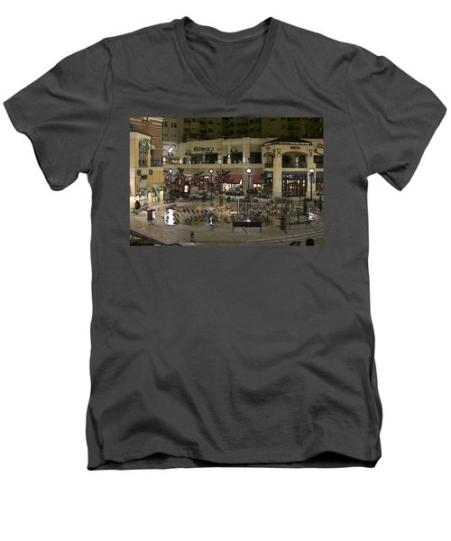 After Closing Men's V-Neck T-Shirt