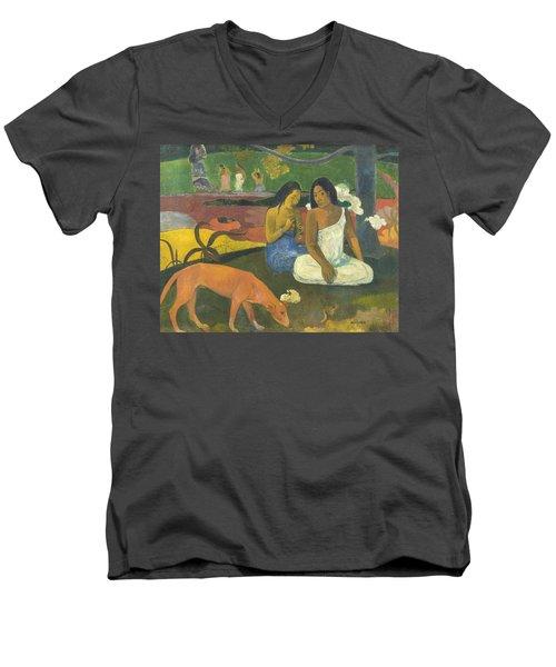 Arearea  Men's V-Neck T-Shirt