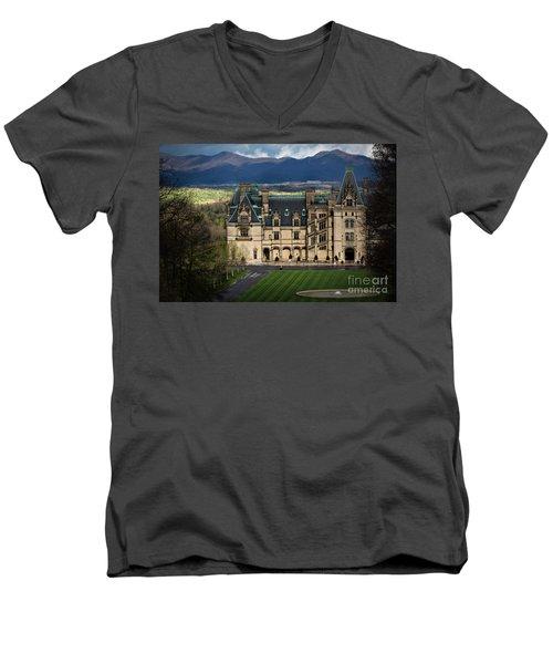 Biltmore Estate Men's V-Neck T-Shirt
