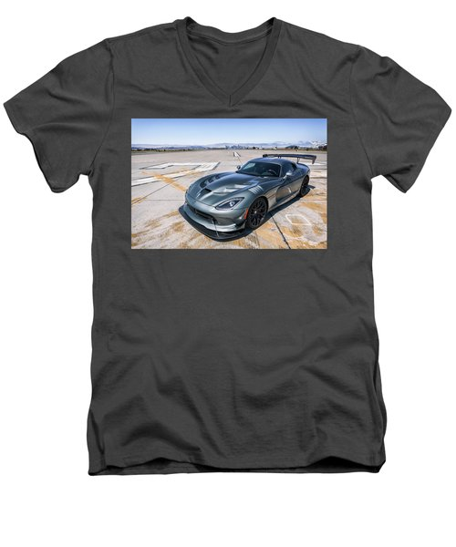 #dodge #acr #viper Men's V-Neck T-Shirt