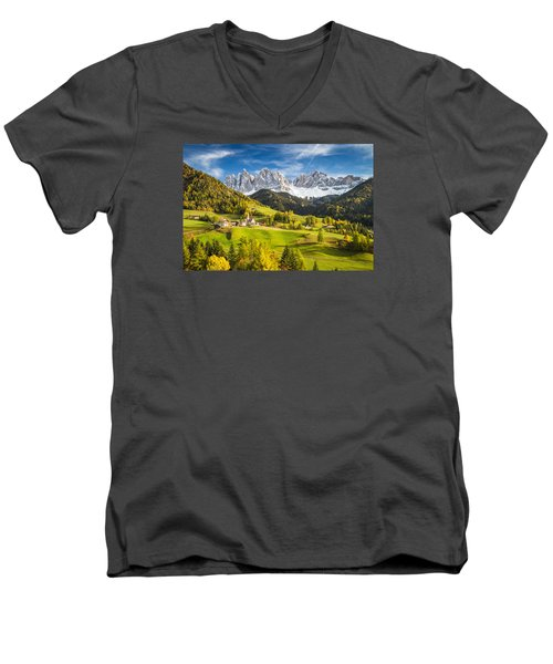 Dolomites Men's V-Neck T-Shirt