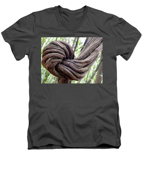 Faith Men's V-Neck T-Shirt by Beto Machado